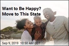 Here Are America's Happiest, Least Happy States
