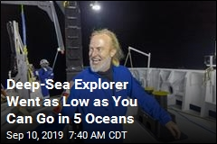 Explorer Makes It to Deepest Points in All 5 Oceans
