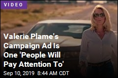 Valerie Plame's Campaign Ad Is One 'People Will Pay Attention To'