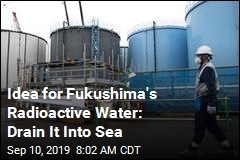 Minister Suggests Fukushima's Radioactive Water Go in Ocean