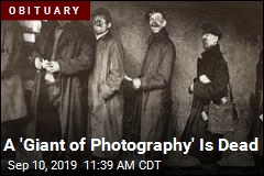 A 'Giant of Photography' Is Dead