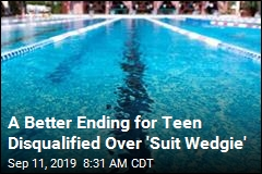 After Uproar Over Swimmer's 'Suit Wedgie' Issue, a Reversal