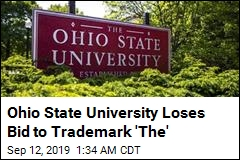 Ohio State University Loses Bid to Trademark 'The'
