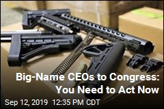 Company Bigwigs to Congress: Act Now on Gun Violence