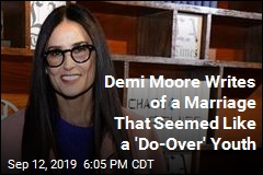 Demi Moore Writes About Marriages, Addictions