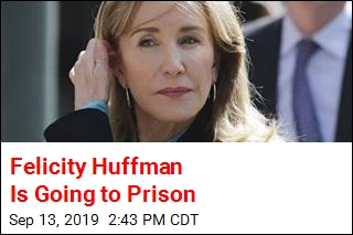 Felicity Huffman Gets Jail Time in College Scandal