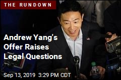 Andrew Yang's Offer Raises Legal Questions