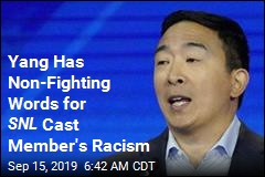 Andrew Yang on SNL Member's Racism: 'Happy to Talk'