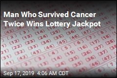 Man Who Survived Cancer Twice Wins Lottery Jackpot