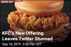 KFC's New Offering Leaves Twitter Stunned
