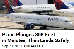 Plane Plunges 30,000 Feet in Minutes, Then Lands Safely