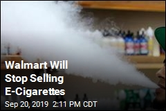 Walmart, Sam's Club Won't Sell E-Cigarettes