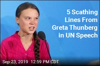 5 Scathing Lines From Greta Thunberg in UN Speech