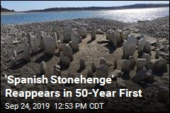 'Spanish Stonehenge' Reappears in 50-Year First