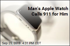 Man's Apple Watch Calls 911 for Him