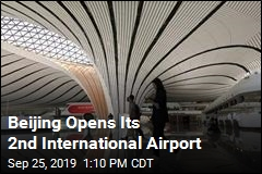 World's Biggest Airport Terminal Opens in China