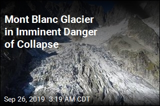 Mont Blanc Glacier in Imminent Danger of Collapse