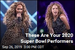 Here Are Your 2020 Super Bowl Performers