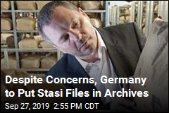 Secret Police Files to Move to Germany's National Archives