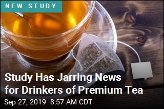 Study Has Jarring News for Drinkers of Premium Tea