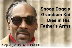 Snoop Dogg's 10-Day-Old Grandson Is Dead
