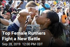 Top Female Runners Fight a New Battle