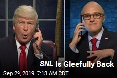 SNL Is Gleefully Back