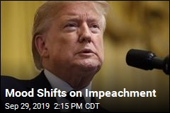 Polling Shifts on Impeachment