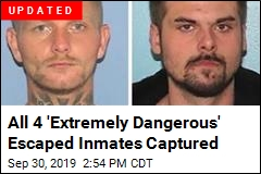 4 'Extremely Dangerous' Inmates Escape Ohio Jail