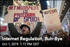 Internet Regulation, Buh-Bye