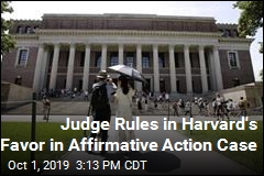 Judge Rules in Harvard's Favor in Affirmative Action Case