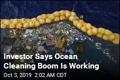 Investor Says Ocean Cleaning Boom Is Working