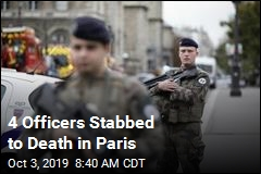 4 Officers Stabbed to Death in Paris