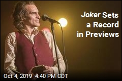 Joker Sets a Record in Previews