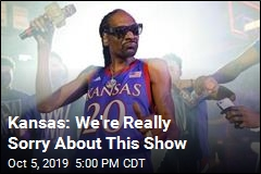 Kansas: We're Really Sorry About This Show