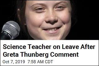 Science Teacher on Leave After Greta Thunberg Comment
