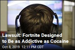 Lawsuit: Fortnite Designed to Be as Addictive as Cocaine