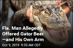 Fla. Man Allegedly Offered Gator Beer —and His Own Arm