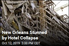 New Orleans Stunned by Hotel Collapse