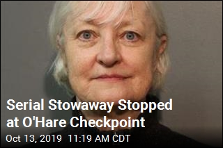 Serial Stowaway Stopped at O'Hare Checkpoint