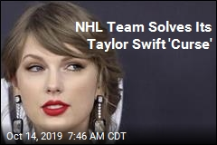 NHL Team Solves Its Taylor Swift 'Curse'
