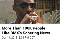 DMX's Team Announces He's 'Putting Sobriety First'