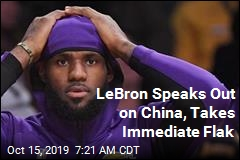 LeBron Speaks Out on China, Takes Immediate Flak