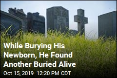 While Burying His Newborn, He Found Another Buried Alive