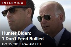 Hunter Biden Speaks Out