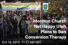 Mormon Church to Utah: Don't Ban Gay Conversion Therapy
