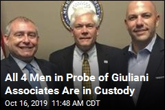 4th Man Arrested in Probe of Giuliani Associates