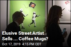 Bansky Is Selling ... Coffee Mugs?