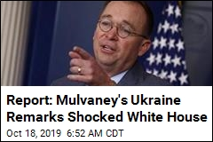 Mulvaney Tries to Walk Back Quid Pro Quo Remarks