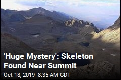 Skeleton Near Summit May Have Been There Decades